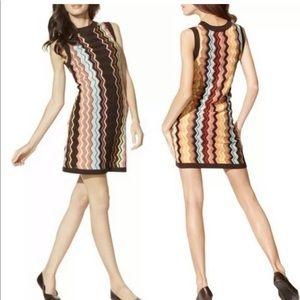 MISSONI Target NWT Chevron Zig Zag Sweater Dress